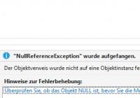 Deutsche Exception