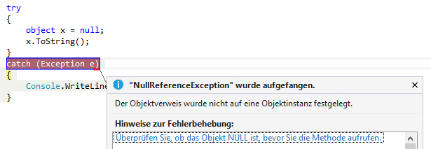 Deutsche Exception